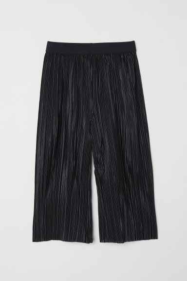 Pleated trousers - Black - Kids | H&M
