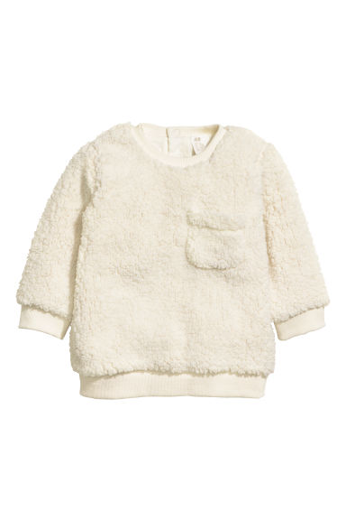 Pile top - Natural white -  | H&M IE