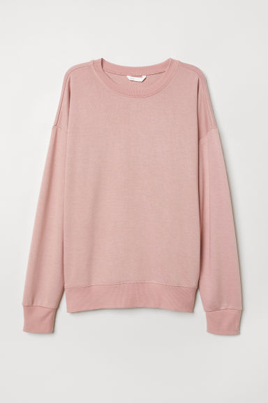 Lichte sweater - Oudroze - DAMES | H&M BE