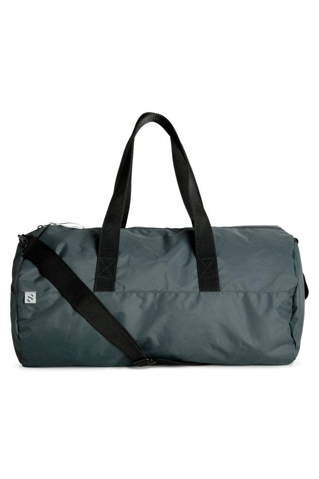 f696a33c3 Cylindrical Sports Bag - Steel blue - Men | H&M ...