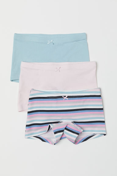 3-pack boxer briefs - Light pink/Striped -  | H&M