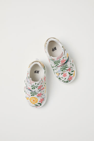 Trainers - White/Floral - Kids | H&M CN