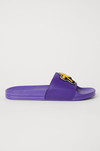 Pool shoes - Purple/78 - Men | H&M CN