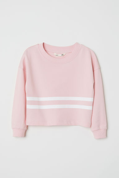 Sweat court - Rose -  | H&M FR