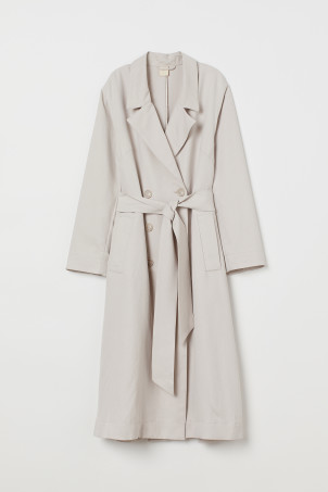 Trenchcoat in A-Linie