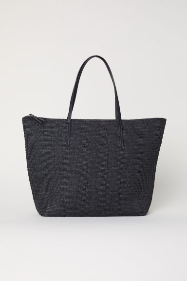 Straw Bag - Black - Ladies | H&M US