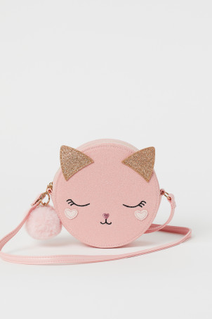 Glittery shoulder bag