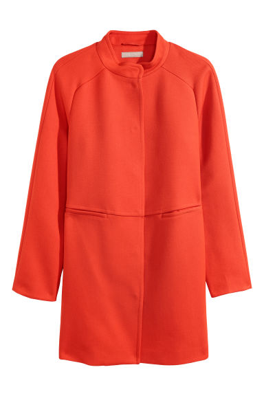 H&M+ Coat - Orange - Ladies | H&M CN