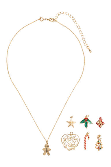 Necklace with pendants - Gold-coloured - Ladies | H&M GB