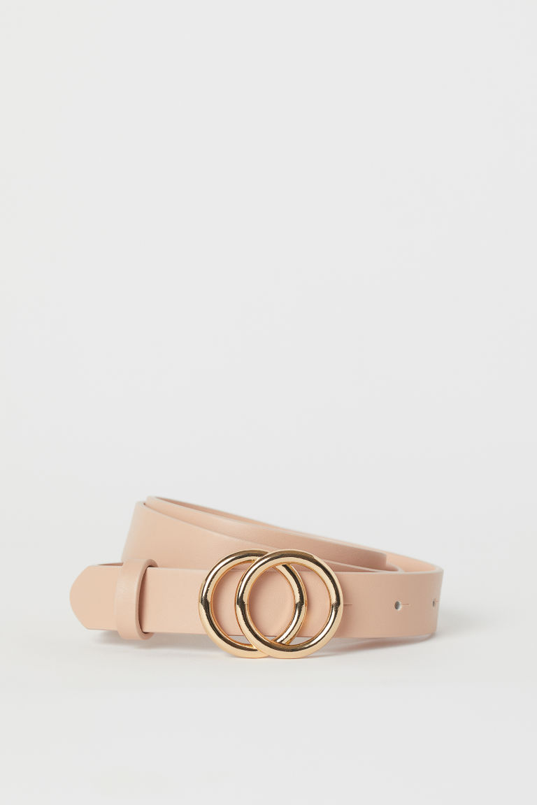 Narrow Belt - Beige - Ladies | H&M US