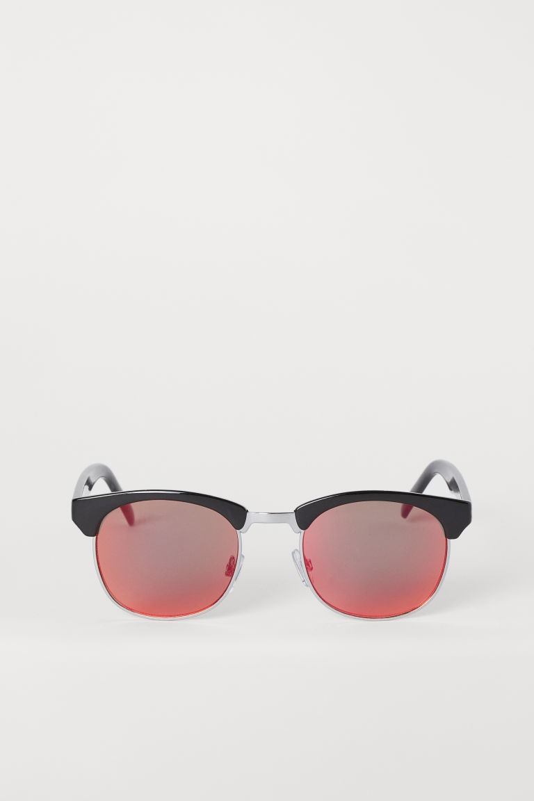 Sunglasses - Black/Red - Men | H&M