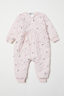 Padded all-in-one pyjamas