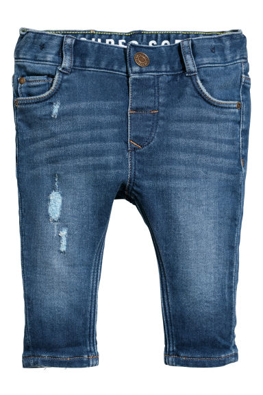 Slim fit Jeans - Dark denim blue - Kids | H&M