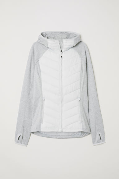 Padded outdoor jacket - Light grey - Ladies | H&M IE