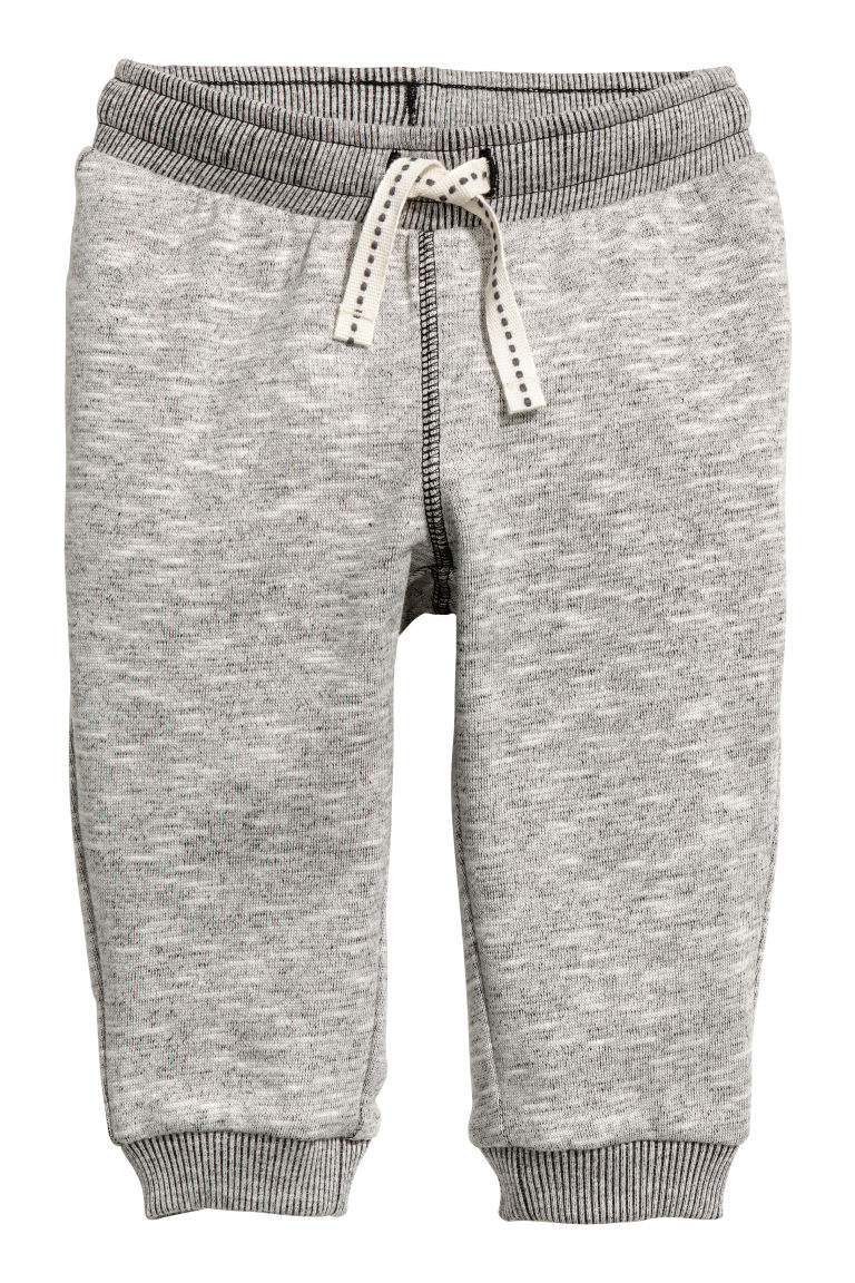 Sweatpants - Grey marl - Kids | H&M CN