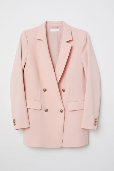 Double-breasted jacket - Apricot - Ladies | H&M