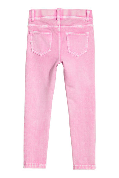 Treggings in jersey spesso - Rosa washed out - BAMBINO | H&M IT