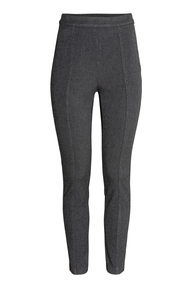 Tregging - High waist - Grijs - DAMES | H&M BE