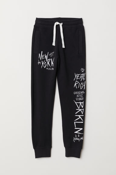 Sweatpants - Black - Kids | H&M CN