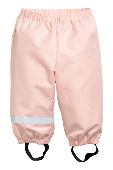 Shell trousers - Powder pink -  | H&M GB