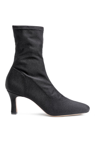 Soft ankle boots - Black -  | H&M CN