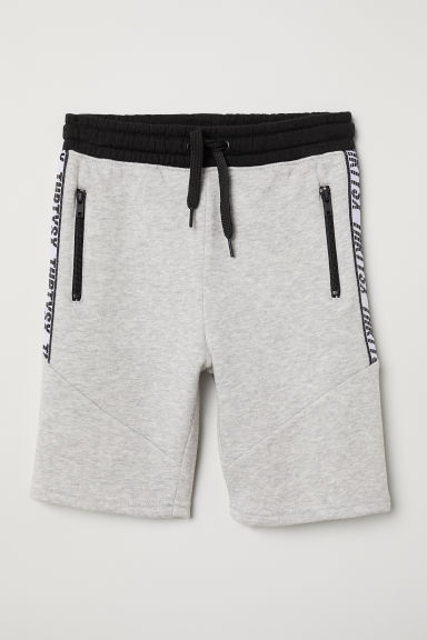 Sweatshirt shorts - Grey marl -  | H&M CN