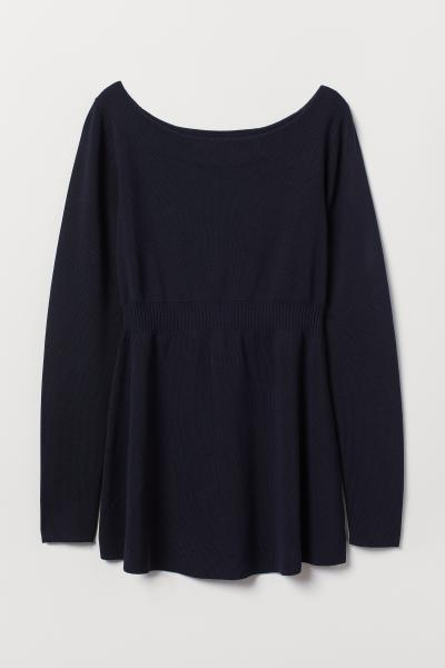 H&M - MAMA Pull en maille fine - 4