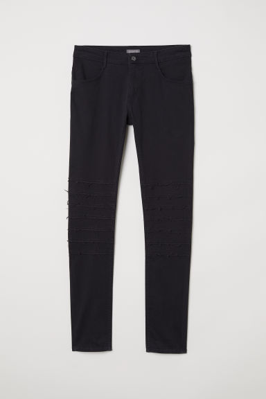 Skinny Low Jeans - Black denim - Men | H&M
