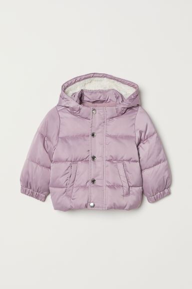Padded jacket - Light purple - Kids | H&M