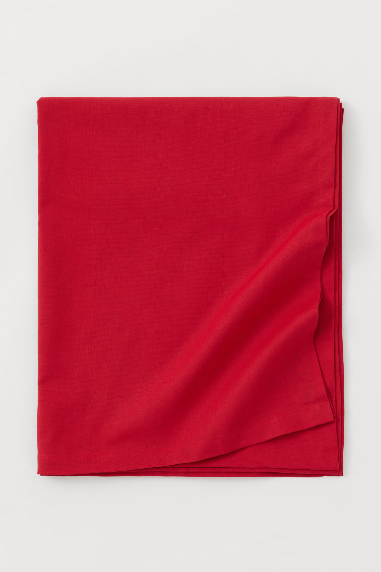Cotton tablecloth - Red - Home All | H&M GB