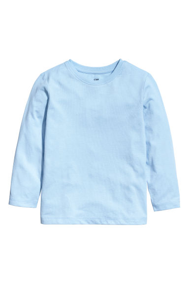 Jersey top - Light blue - Kids | H&M IN