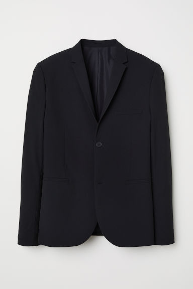 Blazer - Super skinny fit - Zwart - HEREN | H&M BE