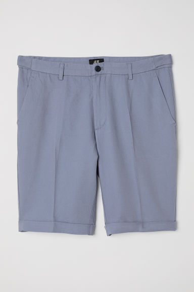 Chino shorts Skinny Fit - Blue -  | H&M CN