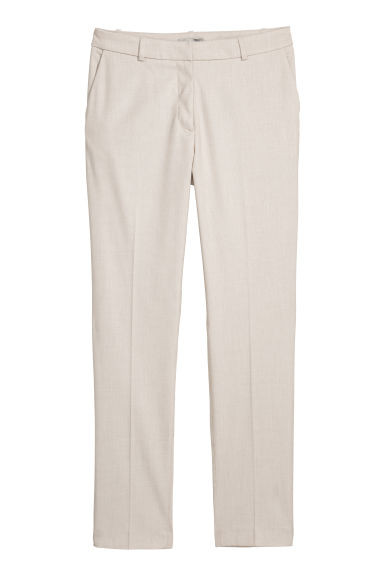 Suit trousers - Light beige -  | H&M CN