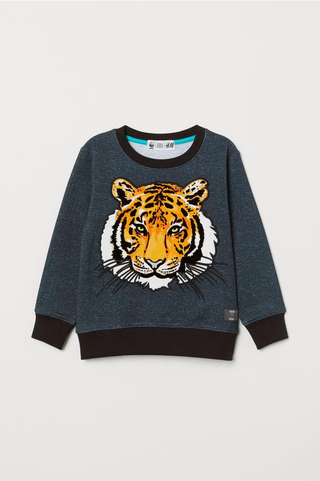 e05ca1035 Sweatshirt med motiv