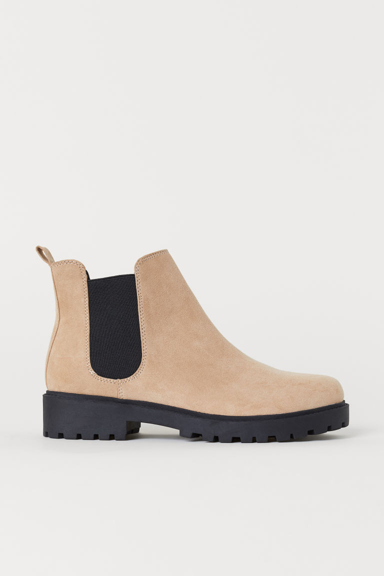 Chelsea boots - Light beige - Ladies | H&M