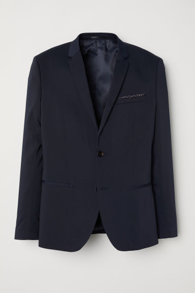 Jacket Super skinny fit - Dark blue -  | H&M CN