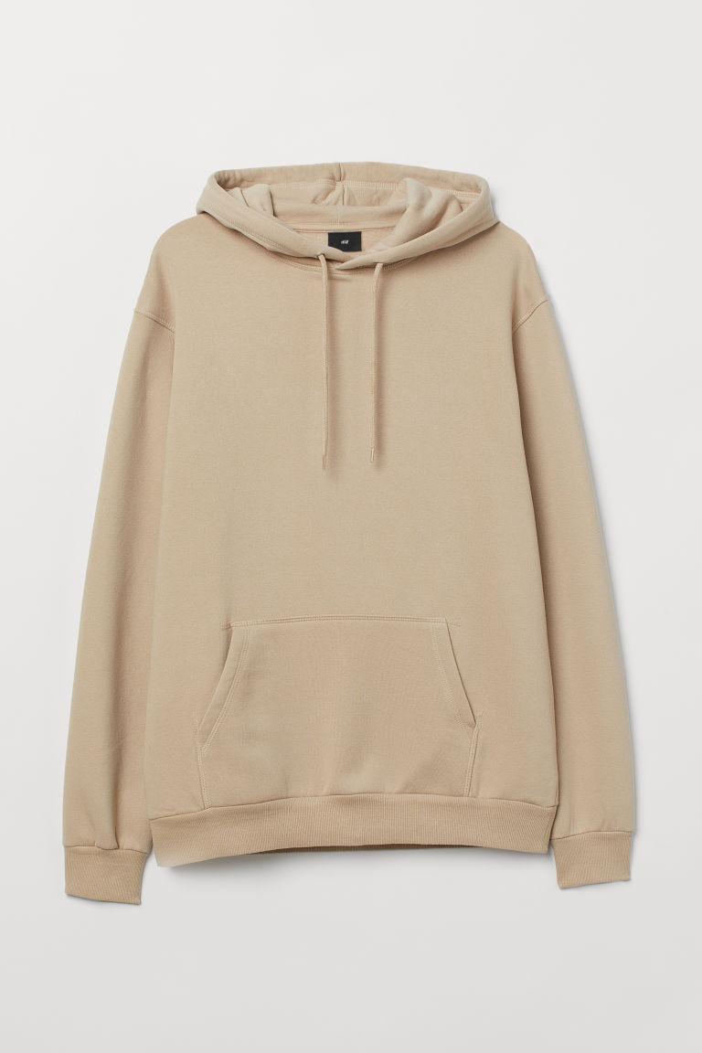 8e24decca19226 Hooded Sweatshirt - Beige - Men | H&M US