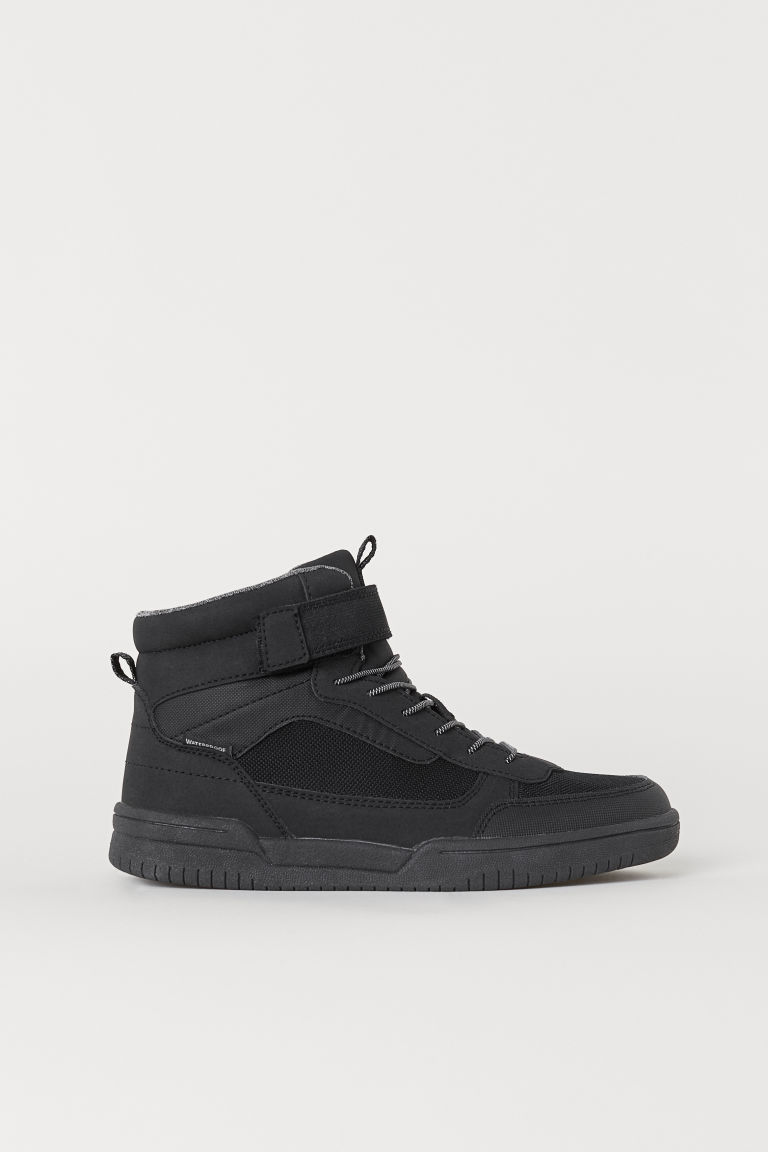 Waterproof hi-tops - Black -  | H&M