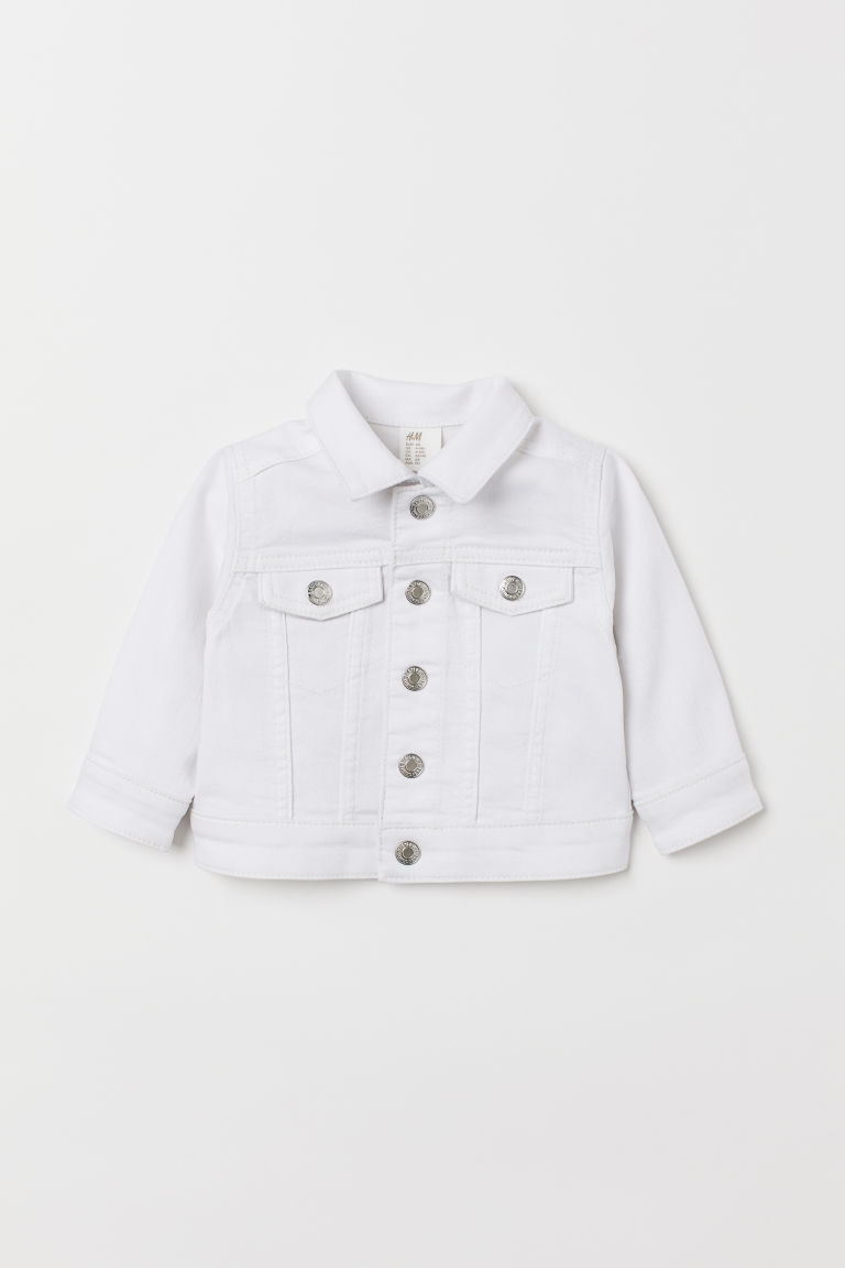Denim jacket - White - Kids | H&M GB