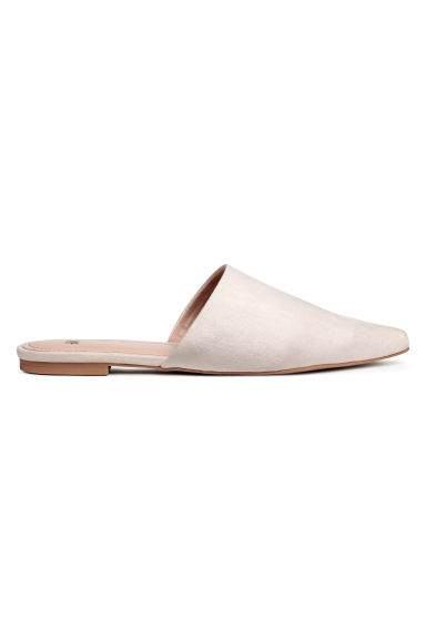 Mules - Light beige - Ladies | H&M CN