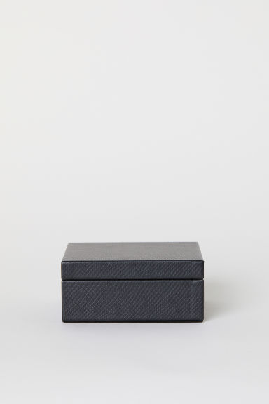 Small box with a lid - Black -  | H&M CN
