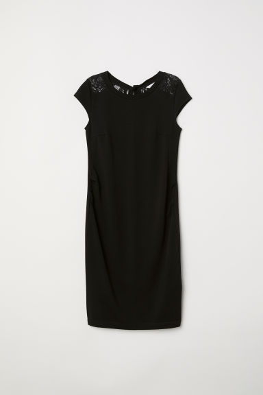 MAMA Short dress - Black - Ladies | H&M