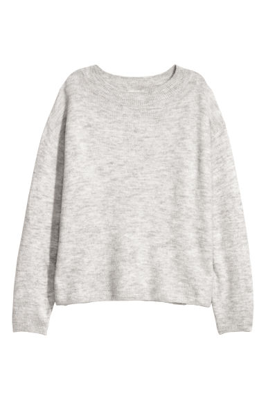 Fine-knit jumper - Grey -  | H&M