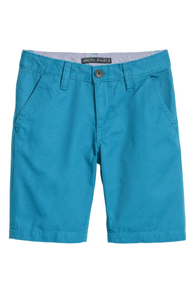 Chinoshort - Turkoois -  | H&M BE