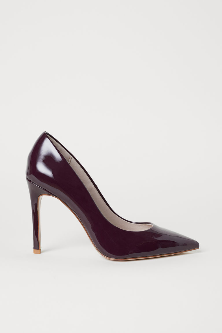 Court shoes - Oxblood red - Ladies | H&M GB