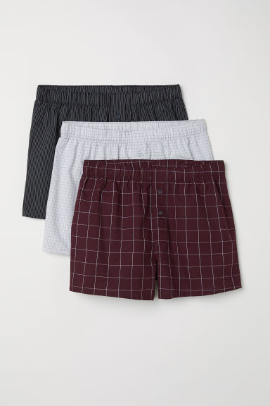 3er-Pack Boxershorts - Schwarz - Men | H&M AT