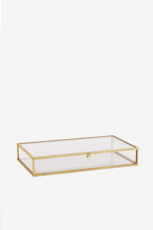Large clear glass boxModel