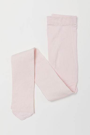 Glittery tights - Light pink -  | H&M