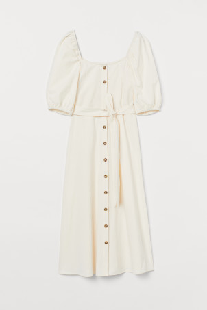 Crêped Cotton Dress